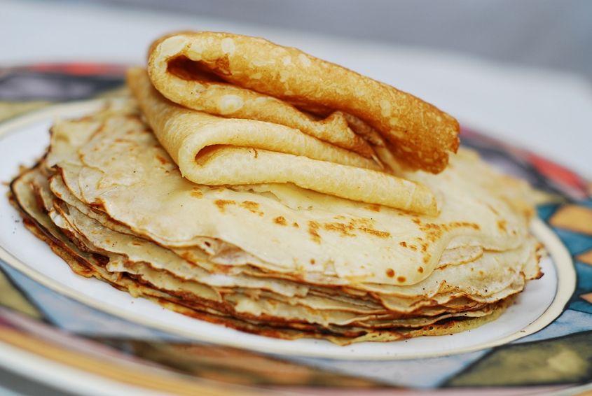 Ricetta crêpes senza uova e senza latte