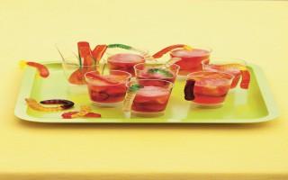 Ricetta pozione magica di frutta e acqua tonica
