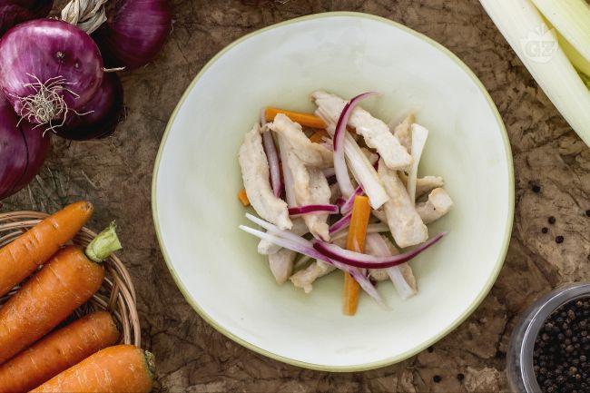 Ricetta pollo in carpione