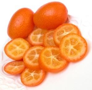 Ricetta petto di pollo colorato all'arancia e kumquat