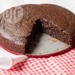 Torta al cioccolato senza glutine con farina di quinoa