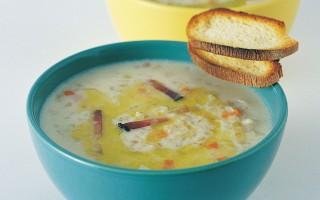 Ricetta minestra d'orzo e riso
