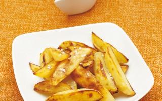 Ricetta patate croccanti con crema di rafano