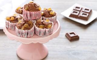 Ricetta muffin al cioccolato al latte e zenzero