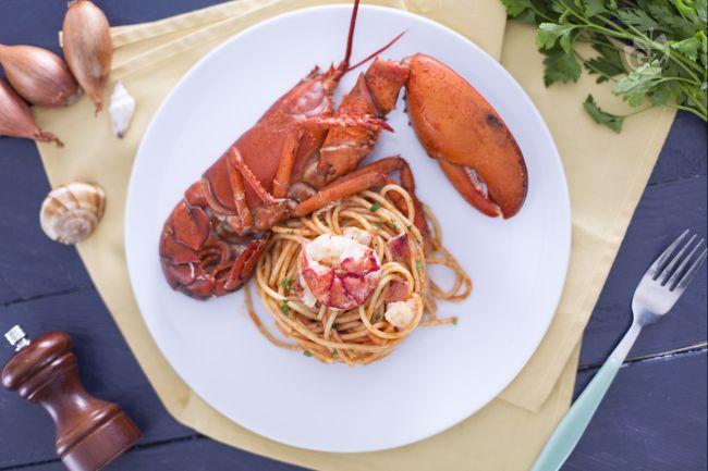 Ricetta spaghetti con astice in bellavista