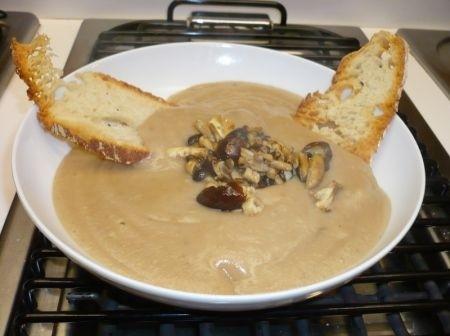 Ricetta zuppa di castagne al rosmarino