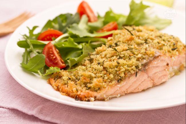 Ricetta salmone croccante
