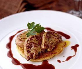 Ricetta foie gras e pancakes