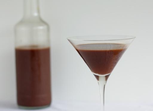 Liquore al cioccolato con il bimby