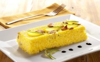Ricetta lingotto di riso con porcini e zucchine