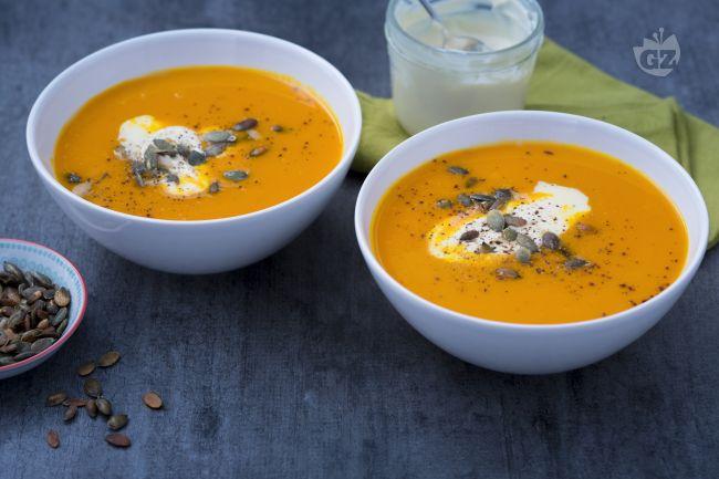 Ricetta vellutata di zucca e carote