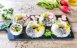 Ricetta sushi donuts