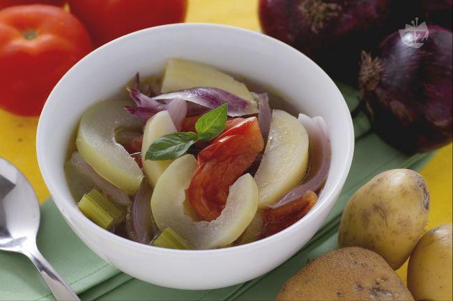Ricetta minestra di verdure estiva