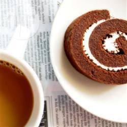 Rotolo al cioccolato senza farina