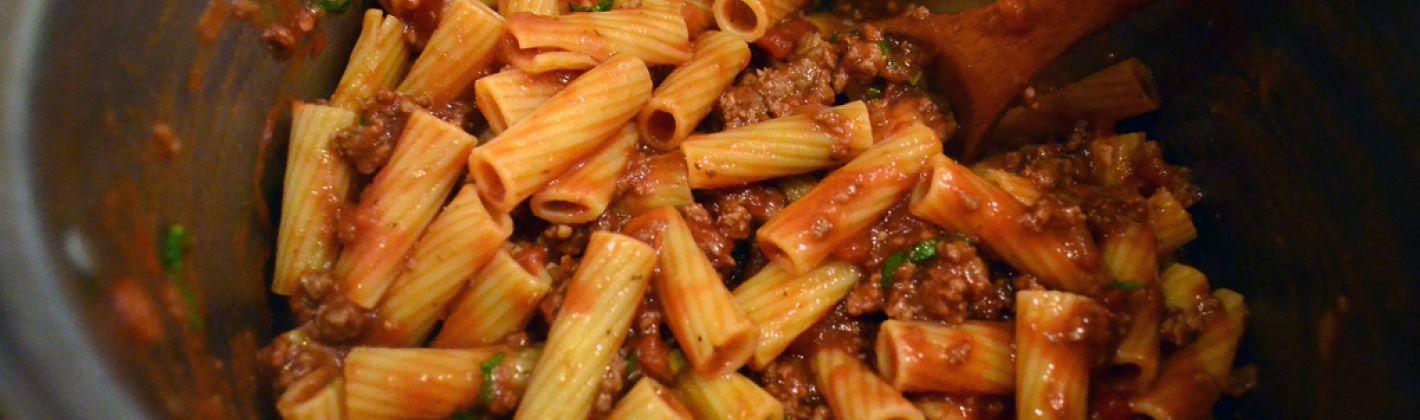 Ricetta pasta alla genovese napoletana