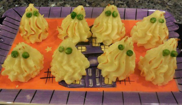 Ricetta fantasmi di patate per halloween