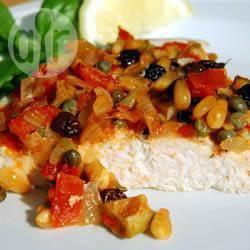 Pesce spada al forno alla siciliana