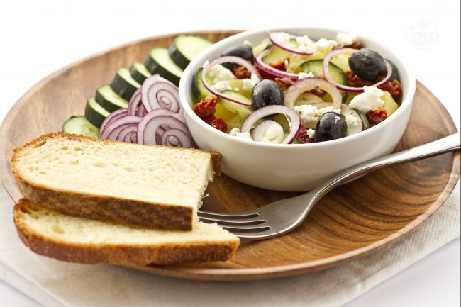 Ricetta insalata di patate e cetrioli