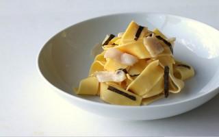Ricetta pappardelle con salsa di capesante allo zafferano ...