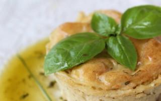 Ricetta tortino di patate al basilico e cipollina