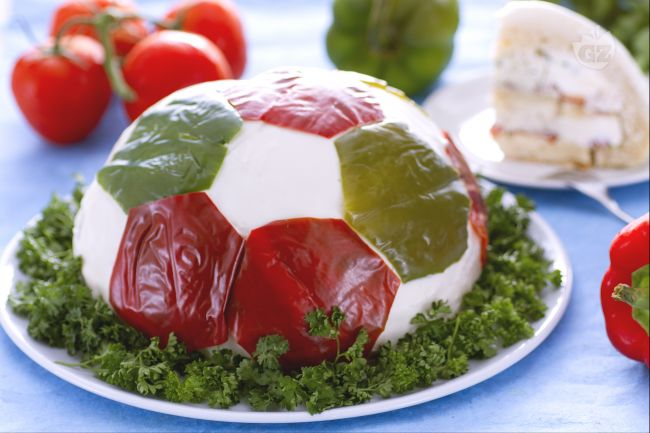 Ricetta torta pallone salata