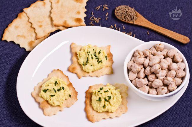 Ricetta sfoglie classiche con hummus