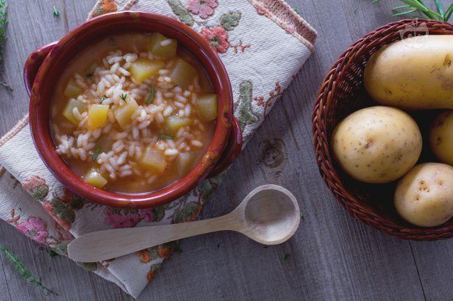 Ricetta minestra di patate
