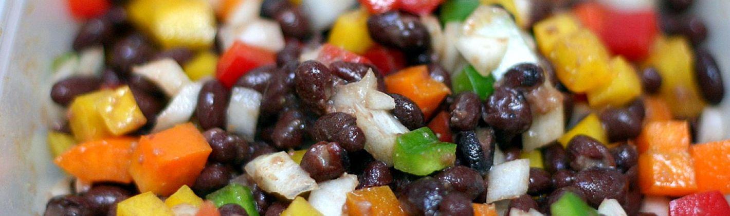 Ricetta insalata dei cinque fagioli