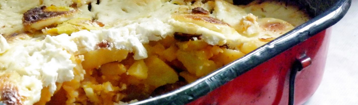Ricetta pasticcio di patate, cipolle e formaggio