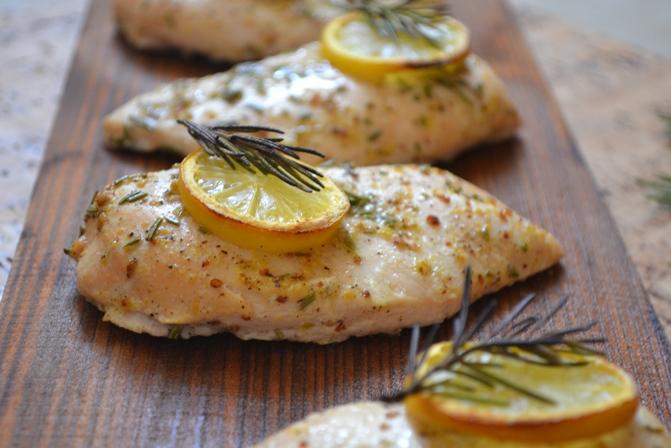 Pollo alle spezie e limone