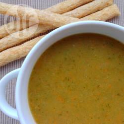 Crema di zucchine e porri