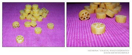 Ricetta ruote di zucchine e gamberetti