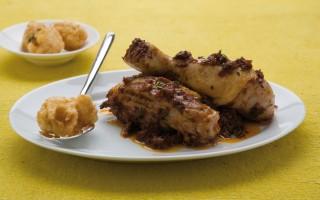 Ricetta pollo al sugo con i rocchini