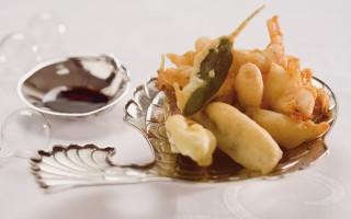 Ricetta tempura di gamberoni e rombo alla soia