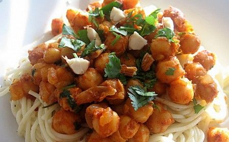 Ricetta cucina fusion: spaghetti alla marocchina
