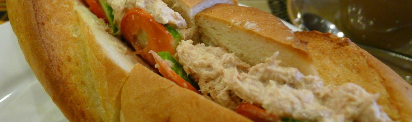 Ricetta baguette con tonno e carciofi