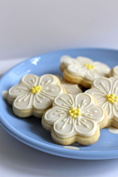 Ricetta biscottini a fiore