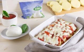 Ricetta gnocchi alla romana con pomodoro e mozzarella ...