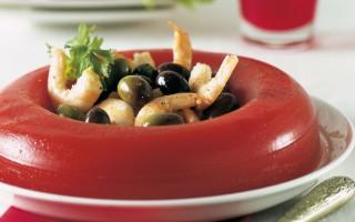 Ricetta aspic di pomodoro