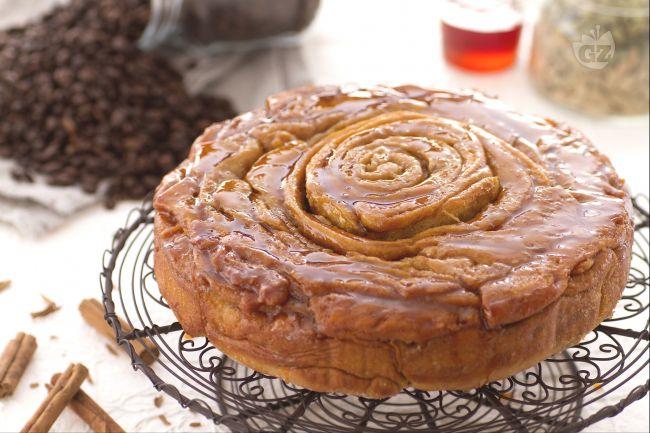 Ricetta torta spirale al caffè