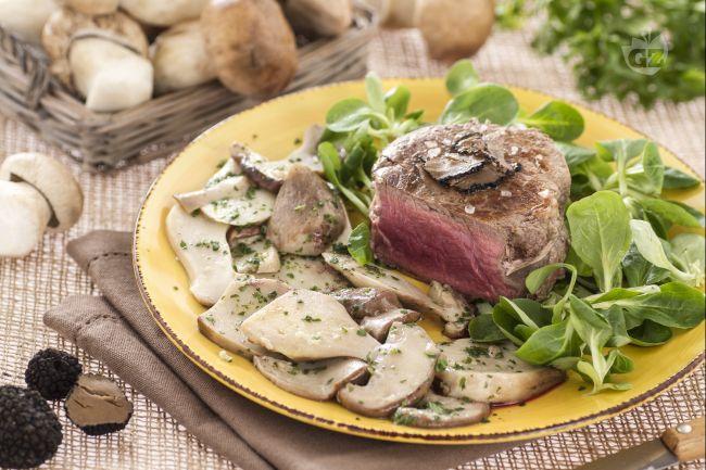 Ricetta filetto con porcini e tartufo