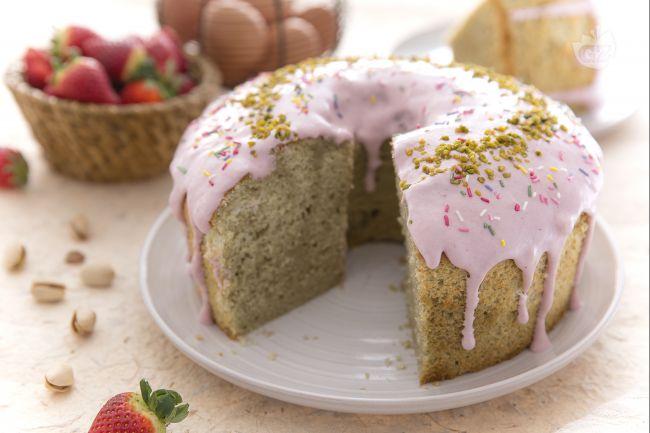 Ricetta chiffon cake multicolor