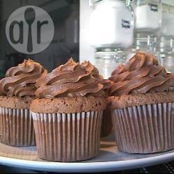 Cupcake al cioccolato e nocciole