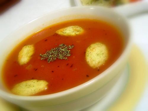 Zuppa di pangrattato