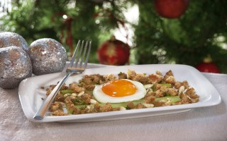Ricetta sedano in vinaigrette con uova