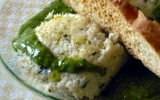 Ricetta quenelles di baccalà con salsa al prezzemolo