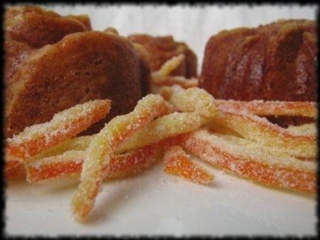 Ricetta tortine all'arancia