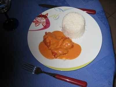 Ricetta rana pescatrice in salsa rosa