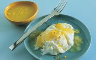Ricetta uova profumate all'arancia