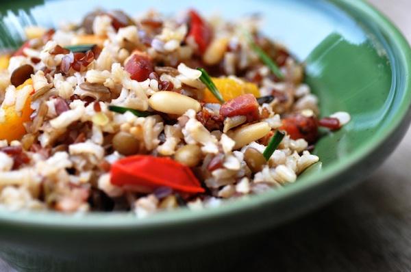 Insalata di riso contadora